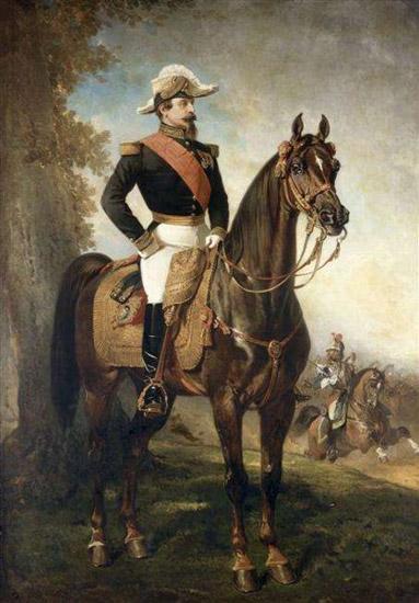 Mounted Portrait of Napoleon