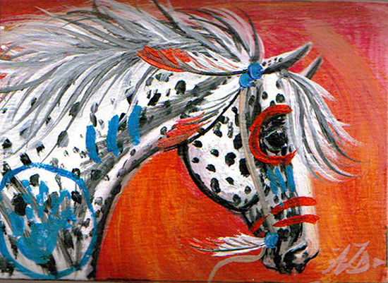 Native American Horse Drawing Gosh, i can remember drawing