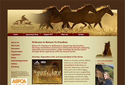 American Wild Horse Sanctuary screenshot