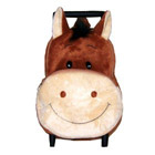 Plush Pull-a-long Harriet Horse Backpack