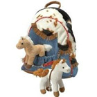 Plush Western Adventure Backpack
