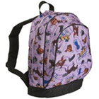 Purple English Riding Backpack