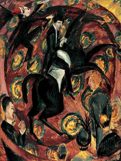 Circus Rider - Ernst Ludwig Kirchner