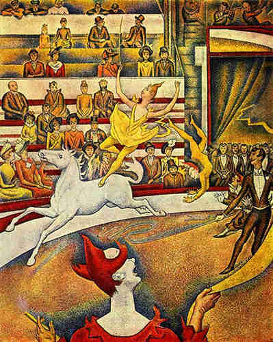 georges seurat the circus - photo #6