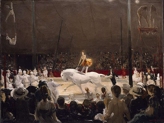 The Circus - George Wesley Bellows