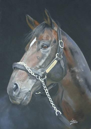 Portrait of Dansili