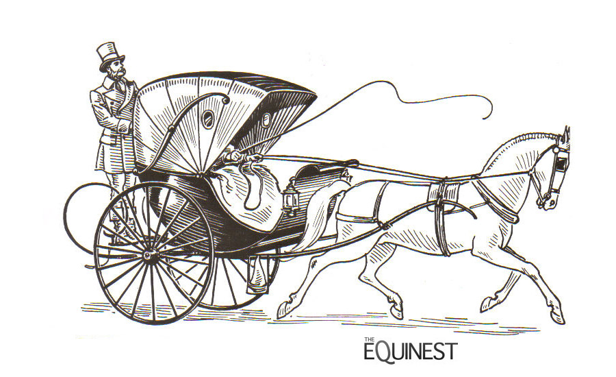 horse carriage coloring pages - photo#23