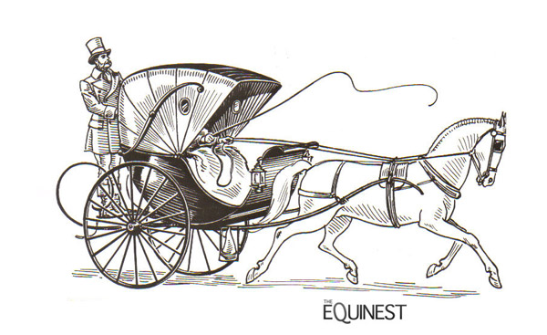 santa horse buggy coloring pages - photo#38