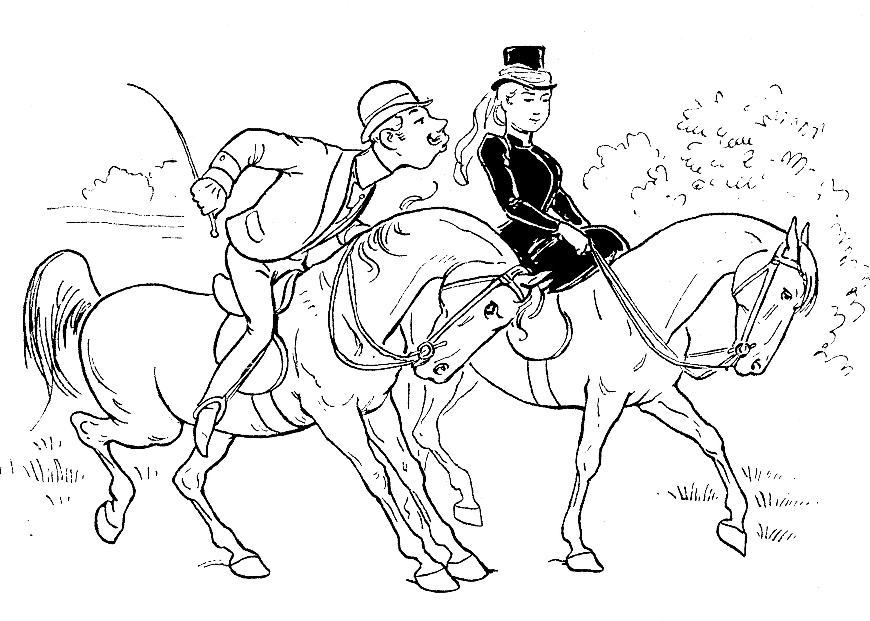 Equestrian Coloring Sheets The Equinest