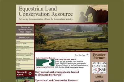 Equestrian Land Conservation Resource screenshot
