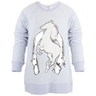 Wildfox Blue Horse Print Jumper