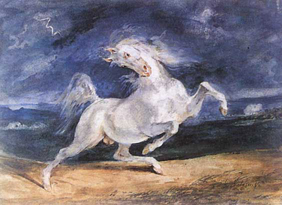 Frightened Horse