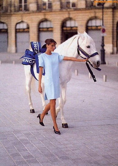Equestrian Fashion Ad