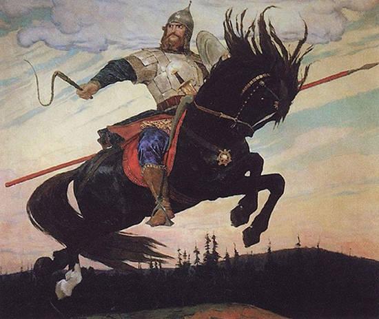 Knight's ride - Viktor Vasnetsov