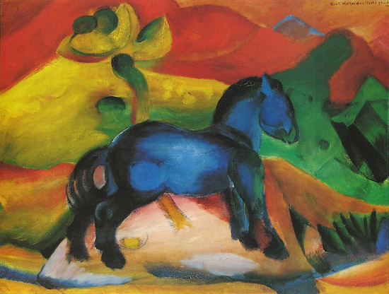 The Horses of Franz Marc   The Equinest