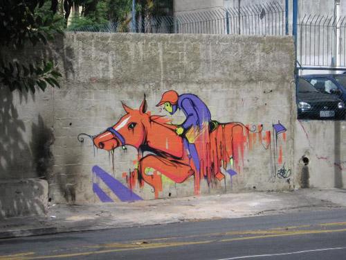 Horse Graffiti