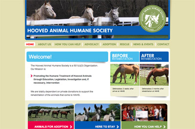 Hooved Animal Humane Society screenshot