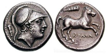Roman Horse Coin