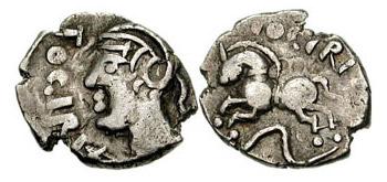 Celtic Horse Coin