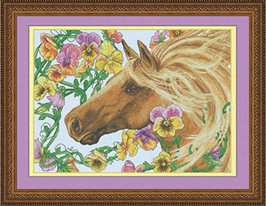 Horse Cross Stitch Kit