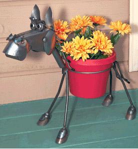 Horse Plant Pot Holder