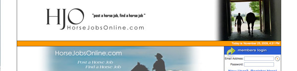 Horse Jobs Online