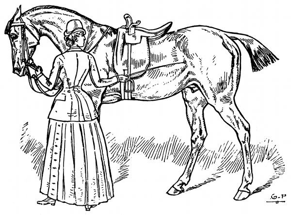 Horsemanship for women coloring pages the equinest - Dessin cavaliere ...