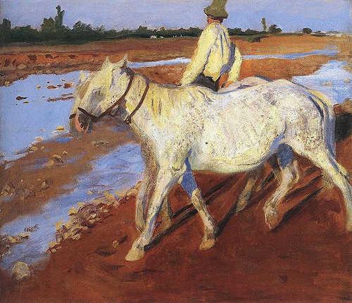 Horses - Károly Ferenczy