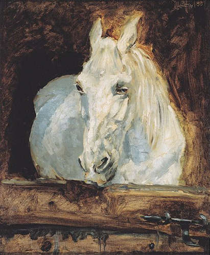 The White Horse - Henri de Toulouse-Lautrec