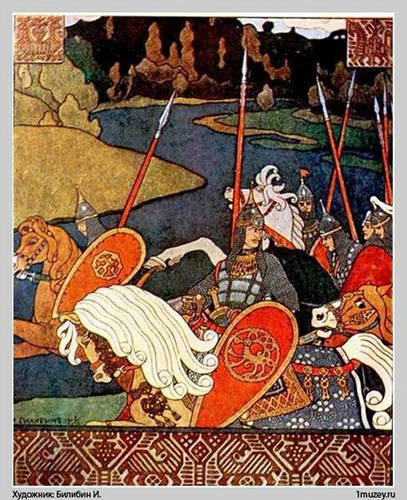 Bogatyr Volga with his army pt 1