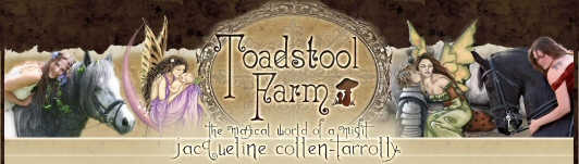 Toadstool Farm Art