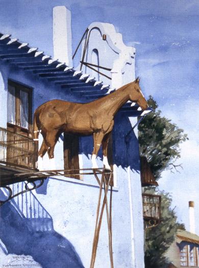 Stockyard Horse