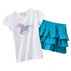 Jumping Beans Horse Tee & Scooter Set