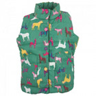 Joules Green Horse Print Gilet