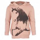 Stella McCartney Rose Horse Print Hoodie