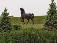 Leonardo da Vinci Horse Statue
