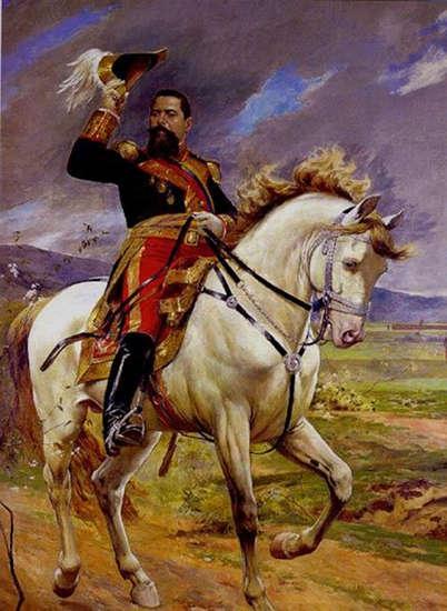 Equestrian Portrait of General Joaquín Crespo