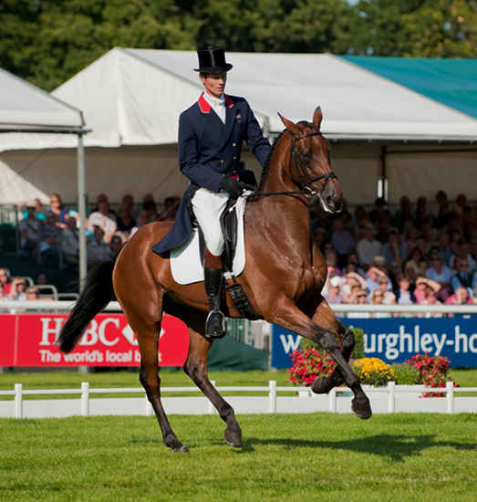 Burghley 2010 Dressage