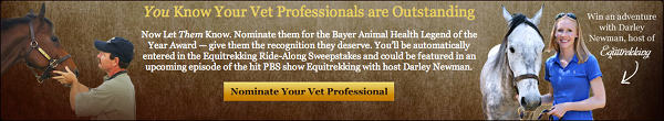 Bayer Animal Health Legend of the Year 2012
