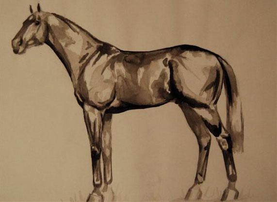 Ophelia Keys Horse