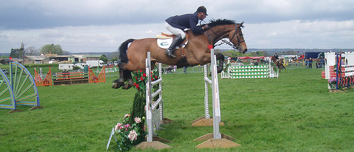 Oxer Jump
