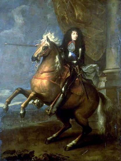 King Louis XIV - Charles Le Brun