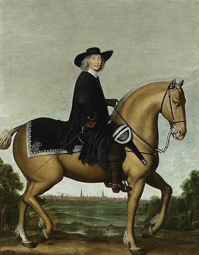 Christoph Bernard von Galen on Horse - Wolfgang Heimbach