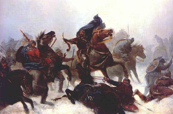 Kong Sverre took over Vossefjellene