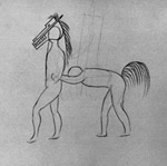 Pantomime Horse Study for Parade