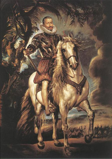 Equestrian Portrait of the Duke of Lerma