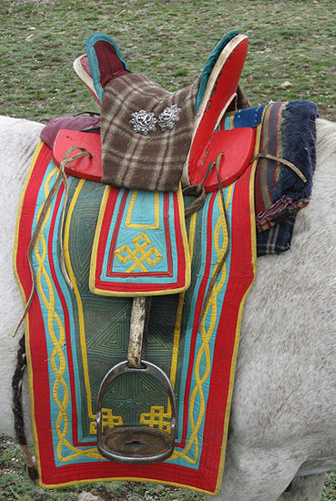 Mongolian Saddle