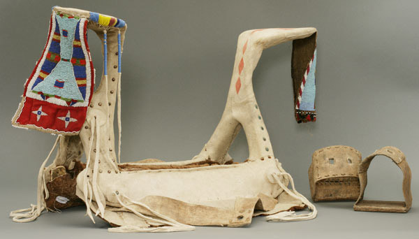Nez Perce Woman's Saddle