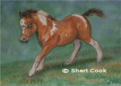 Oil Portrait of SH Sunset Bay