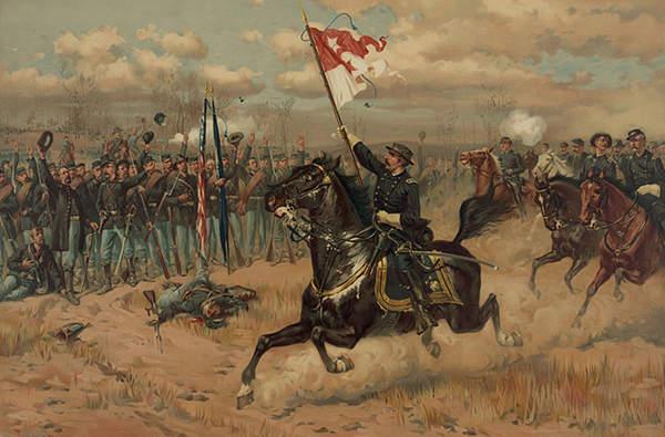 Sheridan's Ride - Thure de Thulstrup